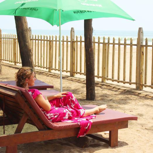 отдых на первой линии пляж Индии